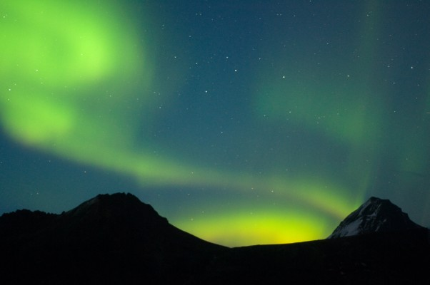 first time northern lights: one of my dreams came true